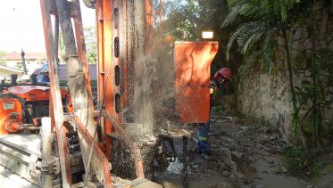 micropiling castor rd 1